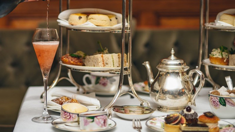 Rosé Champagne Afternoon Tea For Two