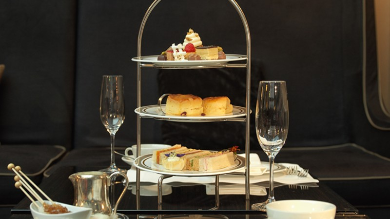 Afternoon Tea For Two With Champagne