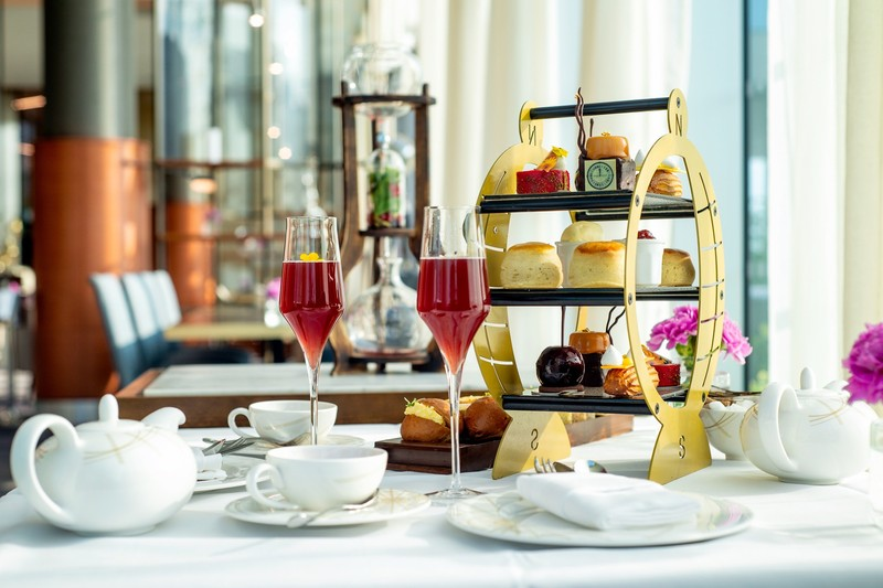 Champagne Spa Afternoon Tea
