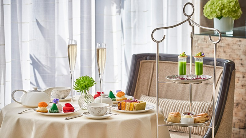 Royal Afternoon Tea for Two with Unlimited Champagne